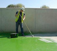 Application of Heavy Duty Protective Coating to the Concrete Surfaces in a Chemical Containment Tank