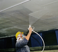 Protective Surface Coating Application on Concrete Facades by Airless Spray